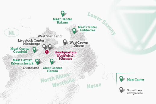 Westfleisch locations - Boer coesfeld ...